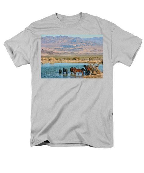 Rest Stop Men's T-Shirt  (Regular Fit) by Tammy Espino
