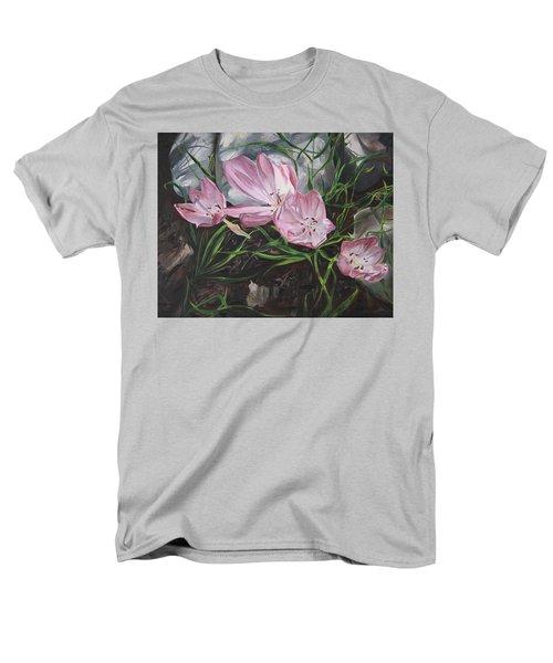 Resurrection Lilies Men's T-Shirt  (Regular Fit)