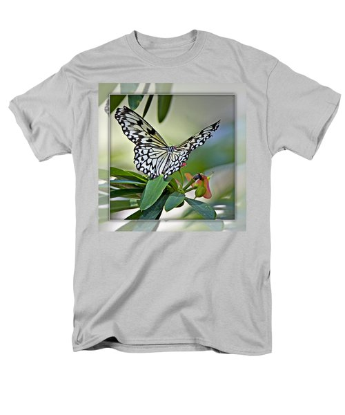 Rice Paper Butterfly 2b Men's T-Shirt  (Regular Fit) by Walter Herrit