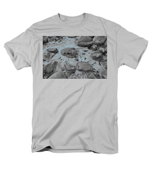 River Ice Blue Men's T-Shirt  (Regular Fit) by Jeremy Rhoades