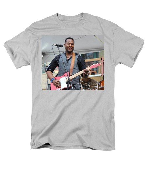Men's T-Shirt  (Regular Fit) featuring the photograph Robert Randolph  by Fiona Kennard
