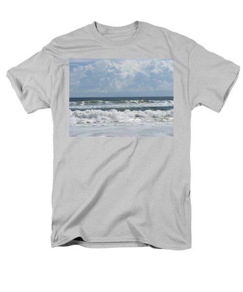Rolling Clouds And Waves Men's T-Shirt  (Regular Fit) by Ellen Meakin