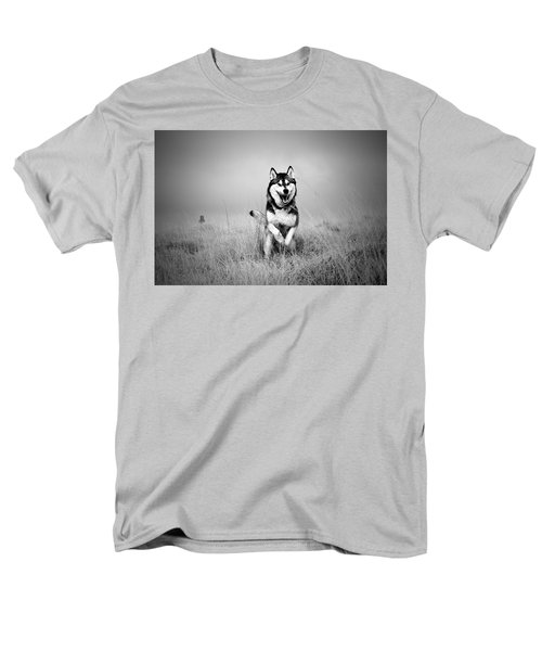 Running Wolf Men's T-Shirt  (Regular Fit) by Mike Taylor