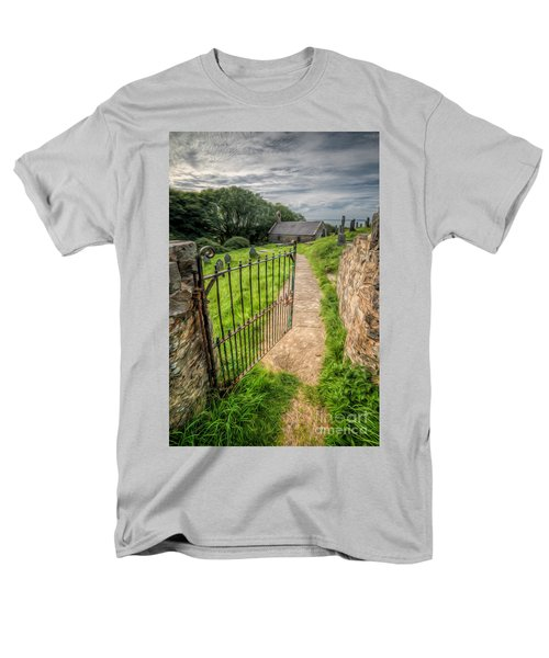 Sacred Path Men's T-Shirt  (Regular Fit) by Adrian Evans
