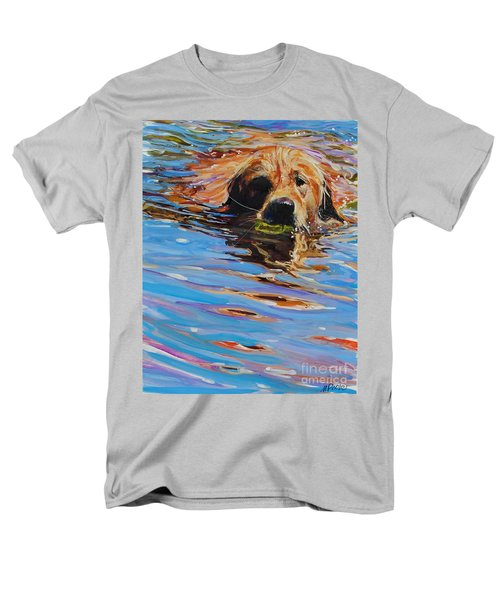 Sadie Has A Ball Men's T-Shirt  (Regular Fit) by Molly Poole