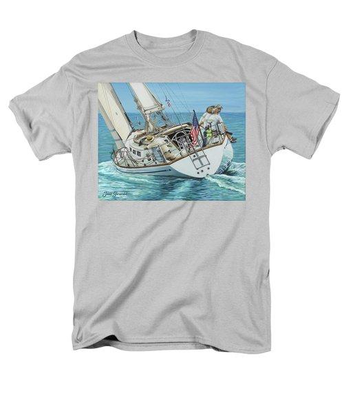 Sailing Away Men's T-Shirt  (Regular Fit)