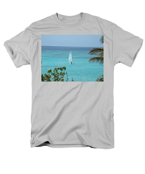 Men's T-Shirt  (Regular Fit) featuring the photograph Sailing by David S Reynolds