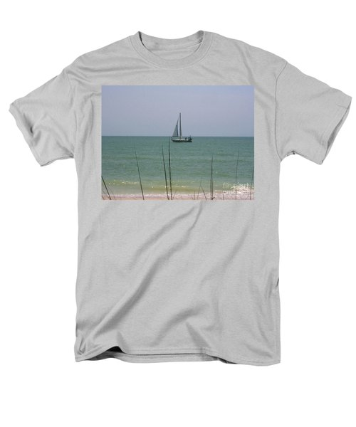 Men's T-Shirt  (Regular Fit) featuring the photograph Sailing In The Gulf by D Hackett