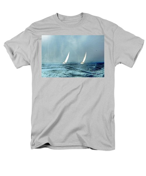 Sailing Into The Unknown Men's T-Shirt  (Regular Fit) by Andrea Kollo