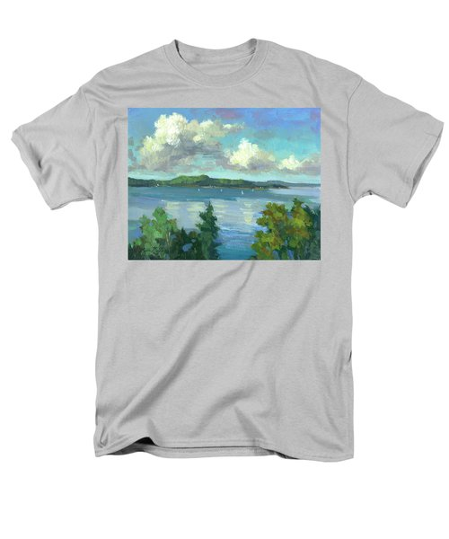 Sailing On Puget Sound Men's T-Shirt  (Regular Fit) by Diane McClary