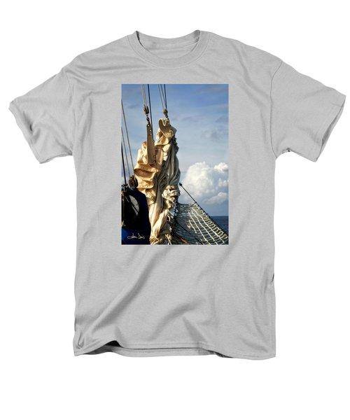 Men's T-Shirt  (Regular Fit) featuring the photograph Sails by Joan Davis