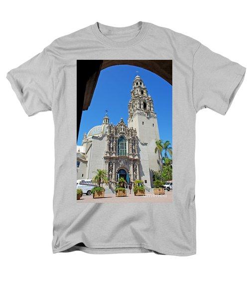 San Diego Museum Of Man Men's T-Shirt  (Regular Fit) by Claudia Ellis