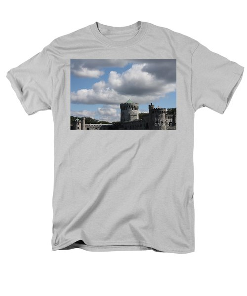 Men's T-Shirt  (Regular Fit) featuring the photograph Sands Point Castle by John Telfer