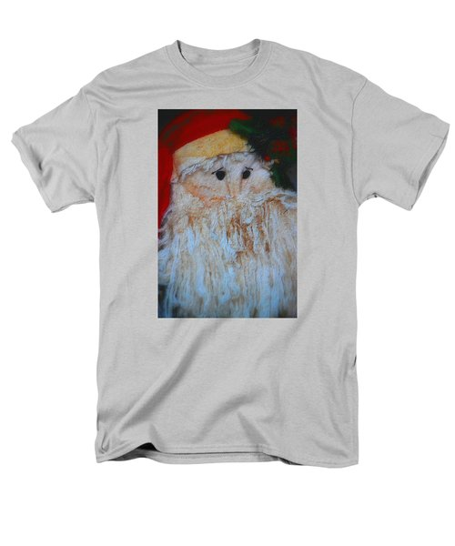 Men's T-Shirt  (Regular Fit) featuring the photograph Santa With Button Eyes by Nadalyn Larsen
