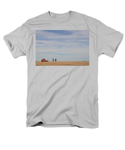 Saskatchewan Men's T-Shirt  (Regular Fit) by Betty-Anne McDonald