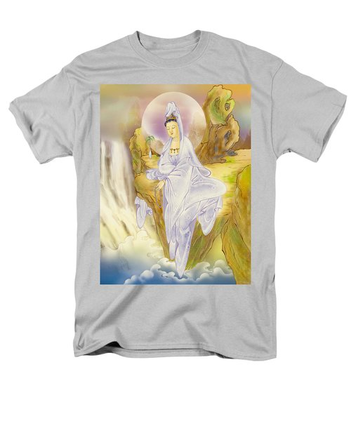 Men's T-Shirt  (Regular Fit) featuring the photograph Sault-witnessing Kuan Yin by Lanjee Chee