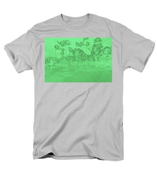 Scene In Green Men's T-Shirt  (Regular Fit) by Mustafa Abdullah
