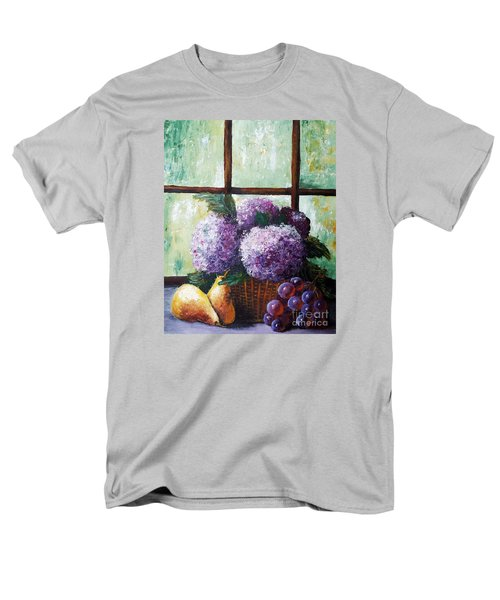 Men's T-Shirt  (Regular Fit) featuring the painting Scent Of Memories by Vesna Martinjak