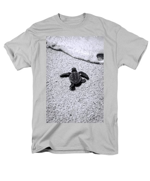 Sea Turtle Men's T-Shirt  (Regular Fit) by Sebastian Musial