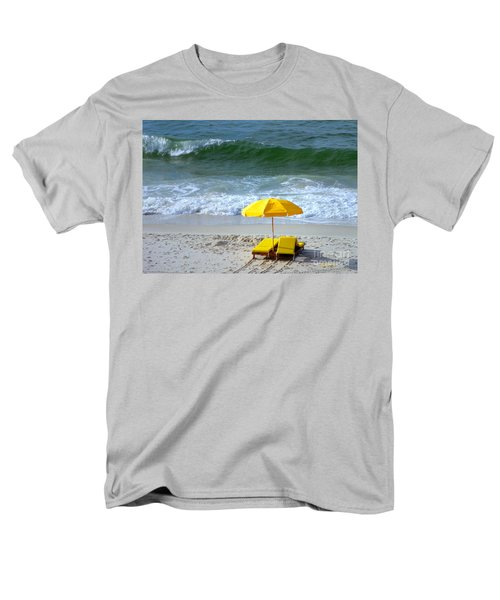 Men's T-Shirt  (Regular Fit) featuring the photograph By The Sea Waiting For Me by Nava Thompson