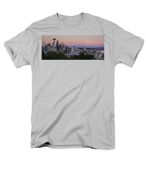 Seattle Sunset - Kerry Park Men's T-Shirt  (Regular Fit)
