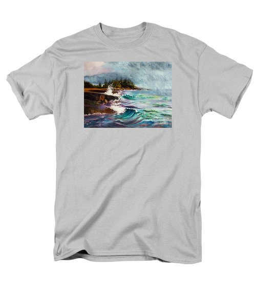 September Storm Lake Superior Men's T-Shirt  (Regular Fit) by Kathy Braud
