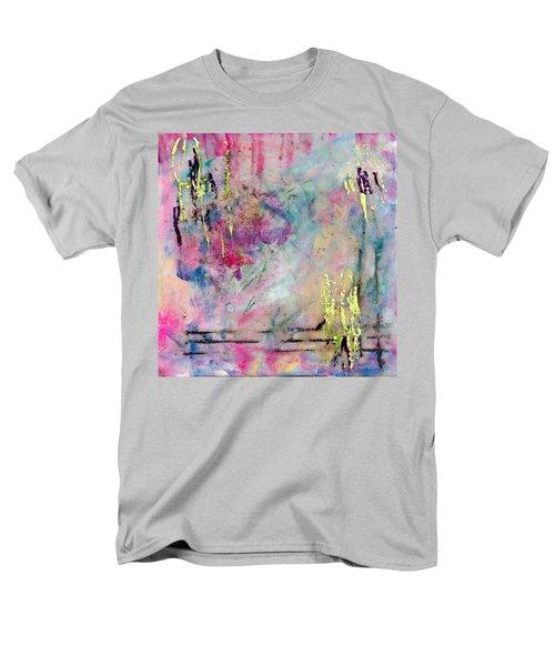 Serene Mist Encaustic Men's T-Shirt  (Regular Fit)