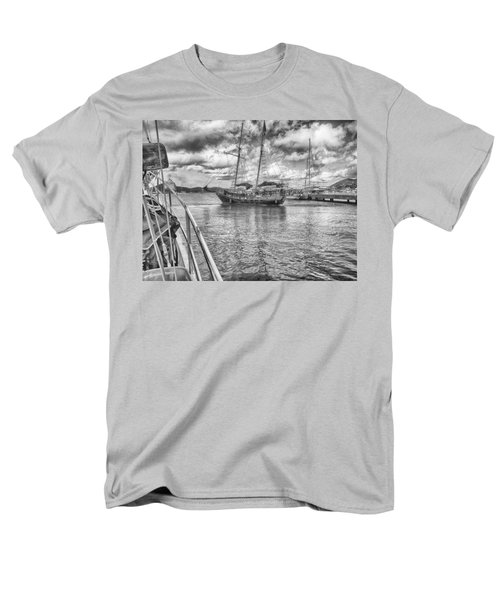 Men's T-Shirt  (Regular Fit) featuring the photograph Setting Sail by Howard Salmon