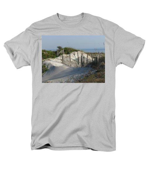 Shadow Fence Men's T-Shirt  (Regular Fit) by Ellen Meakin