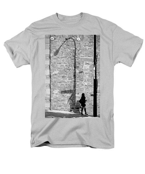 Shadows On St-laurent Men's T-Shirt  (Regular Fit) by Valerie Rosen