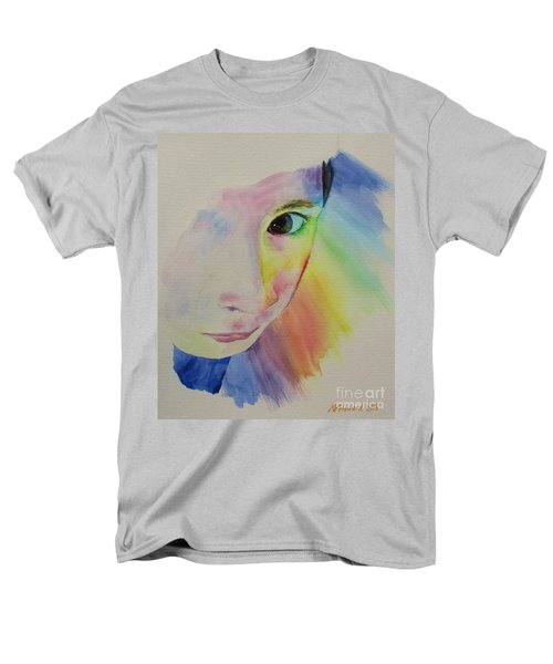 She's A Rainbow Men's T-Shirt  (Regular Fit) by Martin Howard