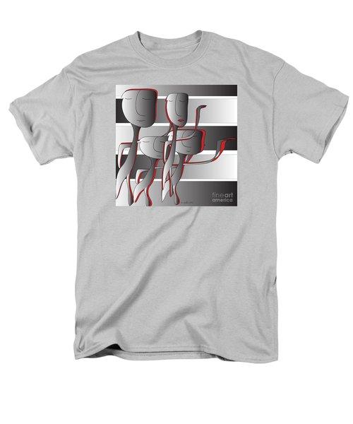Side By Side Men's T-Shirt  (Regular Fit) by Iris Gelbart