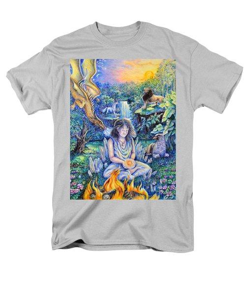 Simply Elemental Men's T-Shirt  (Regular Fit) by Gail Butler