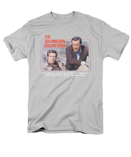 Six Million Dollar Man - The First Men's T-Shirt  (Regular Fit) by Brand A