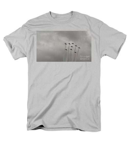 Smoking Planes Men's T-Shirt  (Regular Fit) by Tracey Williams