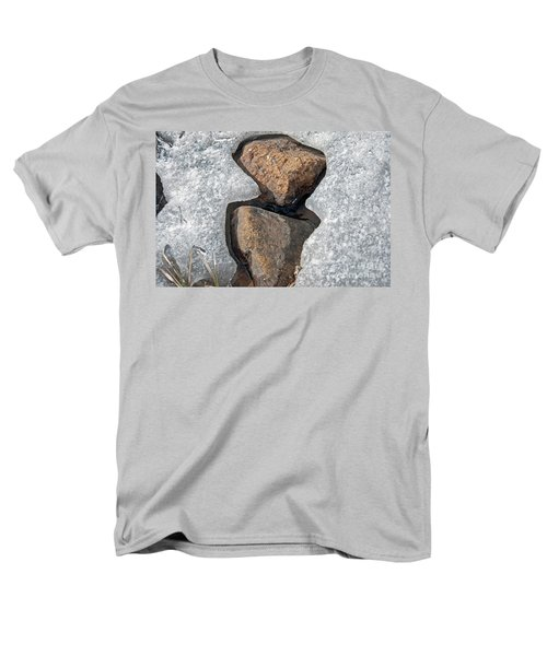 Snow Melt 2 Men's T-Shirt  (Regular Fit) by Minnie Lippiatt