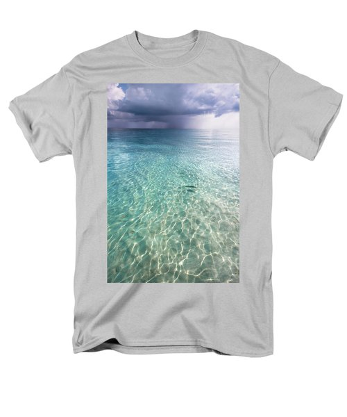 Somewhere Is Rainy. Maldives Men's T-Shirt  (Regular Fit) by Jenny Rainbow