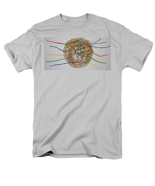Men's T-Shirt  (Regular Fit) featuring the painting Soul Journey 1 by Tim Mullaney