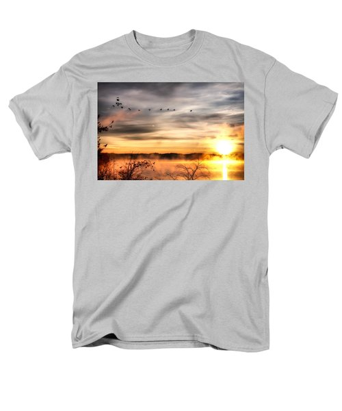 Men's T-Shirt  (Regular Fit) featuring the photograph South Carolina Morning by Lynne Jenkins
