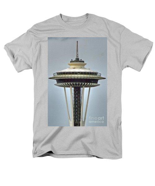 Space Needle Tower Seattle Washington Men's T-Shirt  (Regular Fit)