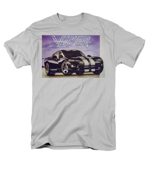 Men's T-Shirt  (Regular Fit) featuring the painting Speed At A Standstill by Thomas J Herring
