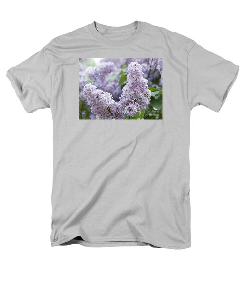 Spring Lilacs In Bloom Men's T-Shirt  (Regular Fit) by Juli Scalzi
