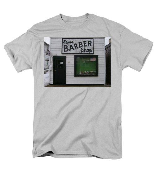 Stans Barber Shop Menominee Men's T-Shirt  (Regular Fit) by Jonathon Hansen
