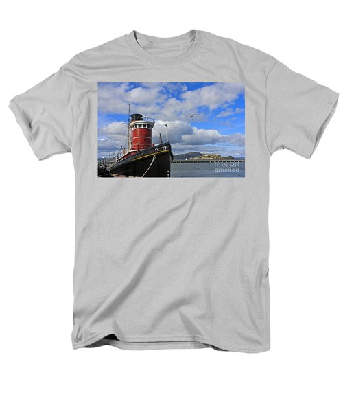 Men's T-Shirt  (Regular Fit) featuring the photograph Steam Tug Hercules by Kate Brown