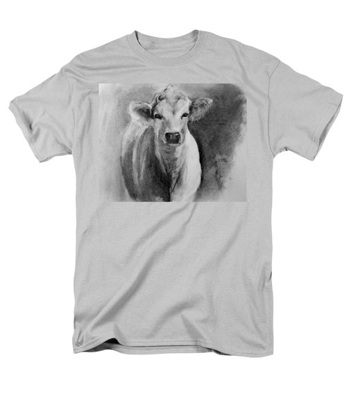 Steer- Drawing From Life Men's T-Shirt  (Regular Fit) by Michele Carter