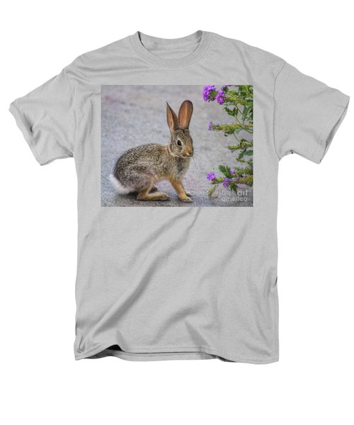 Men's T-Shirt  (Regular Fit) featuring the photograph Stop And Smell The Flowers by Tammy Espino