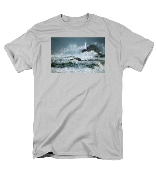 Stormy Seas Men's T-Shirt  (Regular Fit) by Michael Malicoat