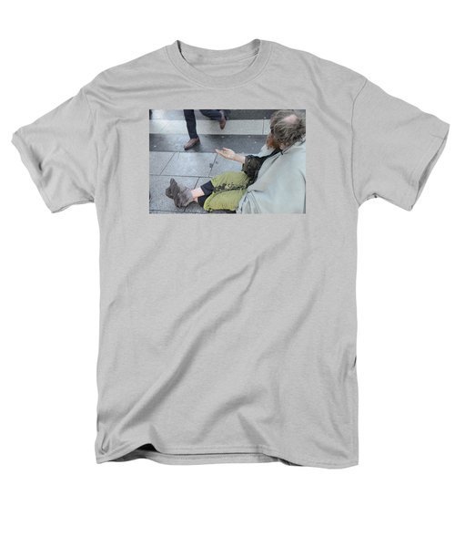 Street People - A Touch Of Humanity 25 Men's T-Shirt  (Regular Fit) by Teo SITCHET-KANDA