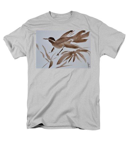 Sumi Bird Men's T-Shirt  (Regular Fit) by Beverley Harper Tinsley