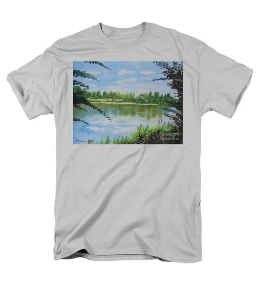 Summer By The River Men's T-Shirt  (Regular Fit) by Martin Howard